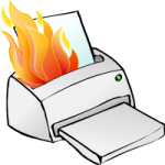 Simon_Printer_on_fire from openclipart.org