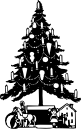 Christmas Tree by Johnny Automatic at openclipart.org